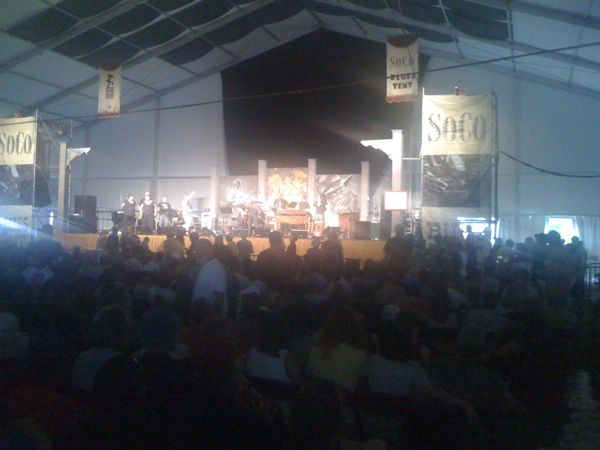 Roy Young at JazzFest