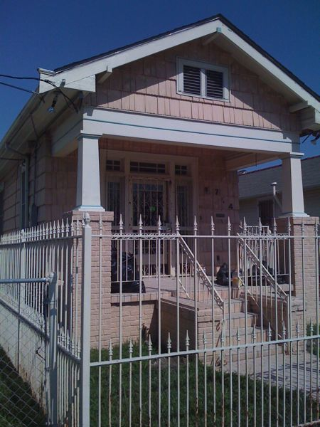 House in Lower Ninth Ward