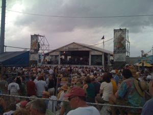 Chubby Carrier at JazzFest